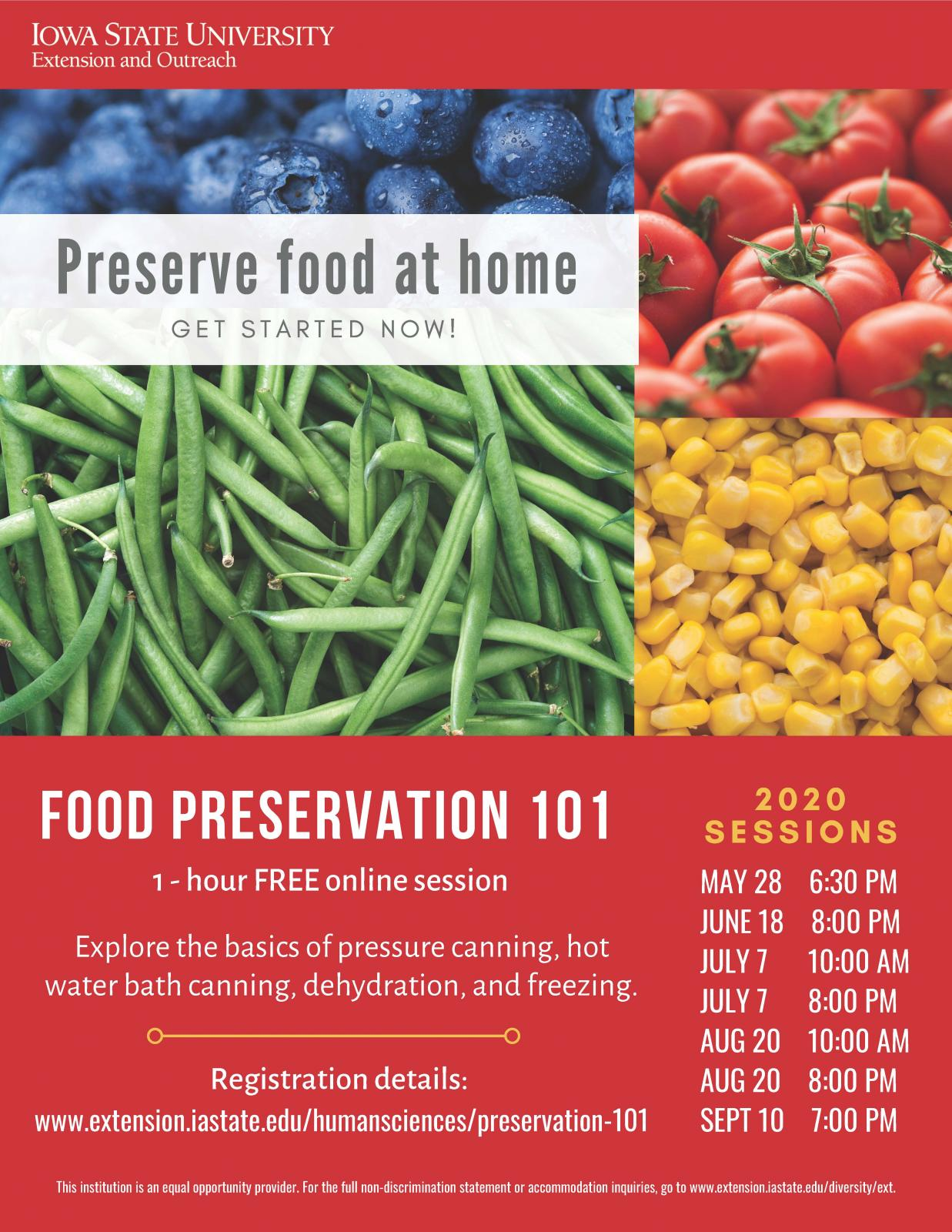 Food Preservation 101 Photo - Click Here to See